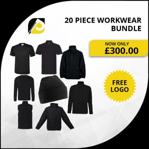 20-Piece-Workwear-Bundle