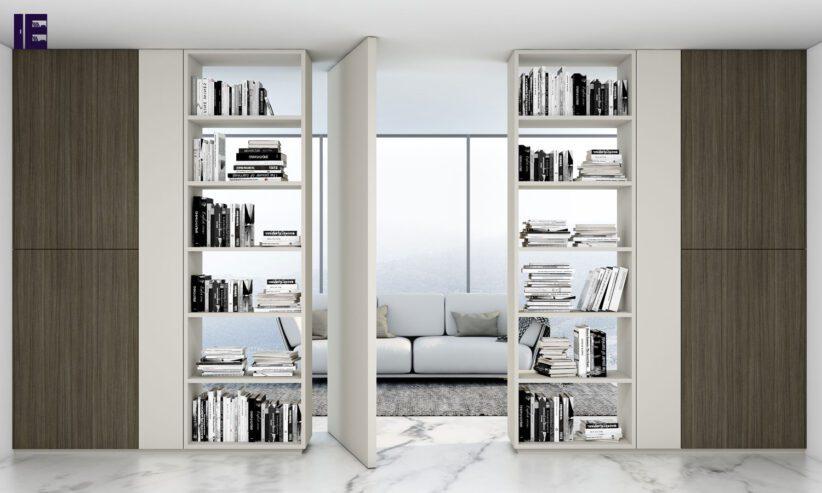 Library-book-storage-bespoke-shelving-in-matt-white-finish-1