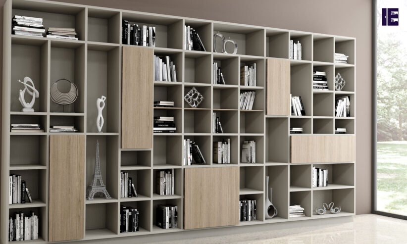 Living-room-bespoke-shelving-in-woodgrain-finish-2