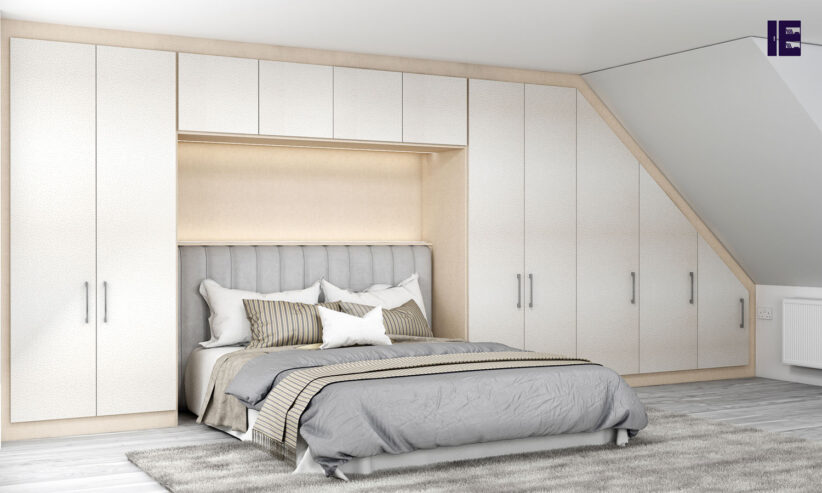 Loft-Fitted-wardrobe-in-Cream-Leather-texture-and-cashemere-finish_1-1