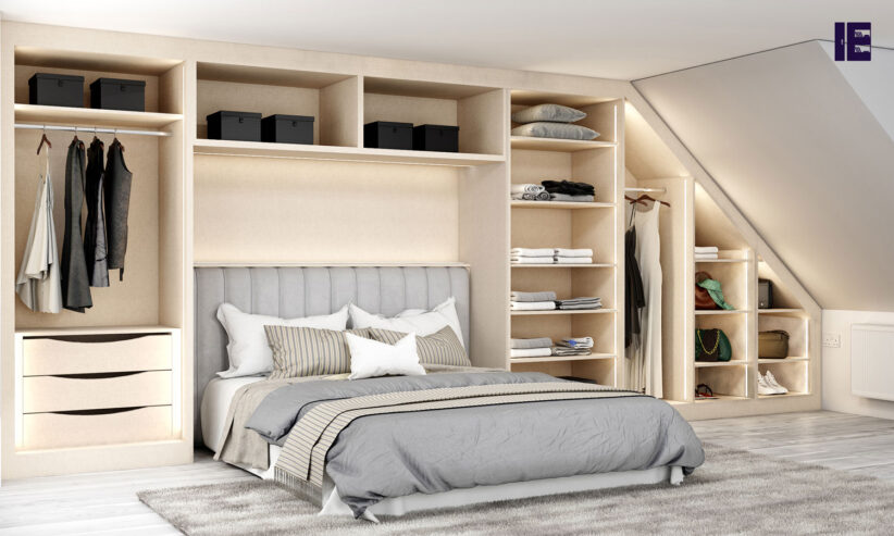 Loft-Fitted-wardrobe-in-Cream-Leather-texture-and-cashemere-finish_2-1