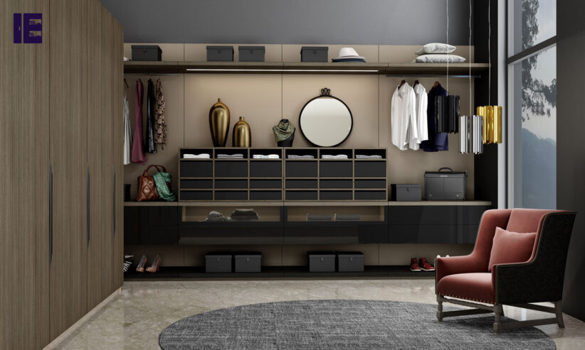 Walk-in-fitted-wardrobe-with-hinged-wardrobe-in-combination-of-Sable-wood-and-dark-grey1