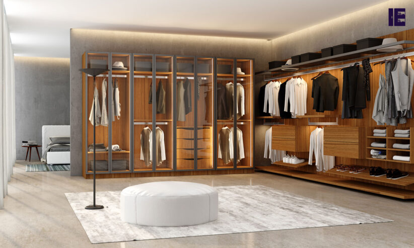 Walkin-fitted-wardrobe-in-natural-walnut-1