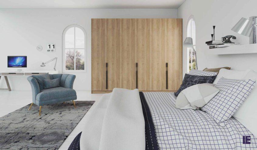hinged-fitted-wardrobe-long-handle-wood-oak